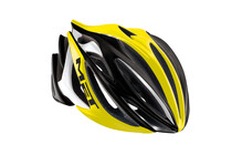 MET Stradivarius HES Racefiets Helm geel/zwart